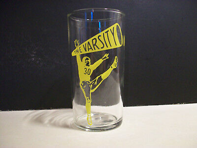 The Varsity Drive In Restaurant Atlanta Ga Advertising Glass Tumbler Football 30