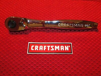 """Craftsman 3/8"""" Drive Ratchet - 84 tooth - Slim Profile - 44995 - FREE SHIPPING"""