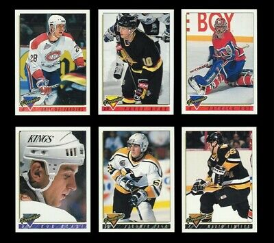 1993-94 Topps Premier Series 1 NHL hockey complete Set of 264 Cards