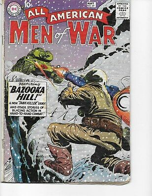 All American Men of War  #69 (1st Tank Killer  GD  2.0) May-1959, DC