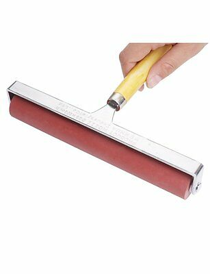 Hard Rubber Brayer Roller 8-Inch for Printmaking Craft Projects Selectable New