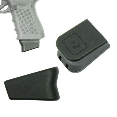 For Glock 2 Magazine Mag Extension 9mm Mag Base 17 19 22 23 26 27
