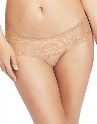 Wacoal So Sophisticated Lace Hipster Brief Knickers 845287 Nude Sand or Black