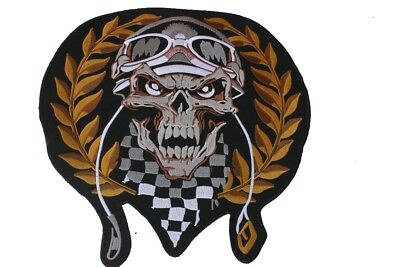 Grand patch dorsal biker neuf  -*- Skull-Biker -*-
