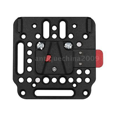 V-Lock Quick Release Plate Assembly Kit Female to Male for V-Mount Battery O6P0