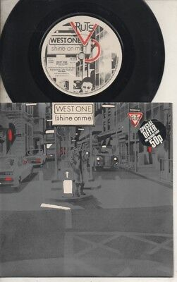"""THE RUTS   Rare 1980 UK Only 7"""" Mint OOP Virgin Label Punk P/C Single """"West One"""""""