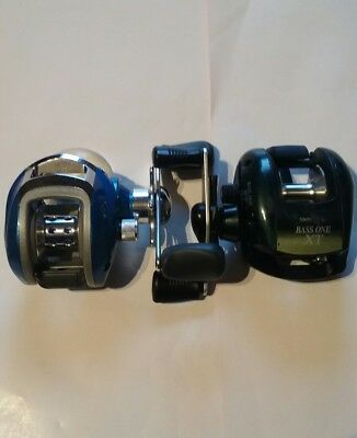 Shimano  Bass One XT  + Pflueger Purist Baitcasting Fishing Reels