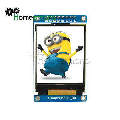 "ST7735 1.8"" inch SPI Full Color TFT LCD Module 128x160 Apply to Arduino AHS"