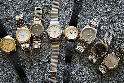 TOP Konvolut Uhren Swiss Made Vintage HAU 8 pieces Quartz lot of watches ab 1