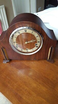Vintage Enfield Royal Wooden Mantle Clock