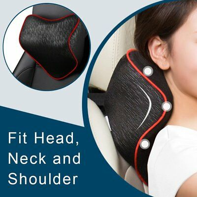 Breathable Soft Auto Car Travel Seat Headrest Neck Rest Cushion Padded Pillow
