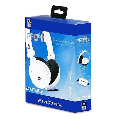 Officially Licensed Sony PRO4-10 Wired Gaming Headset for PS4 Slim Pro PS Vita