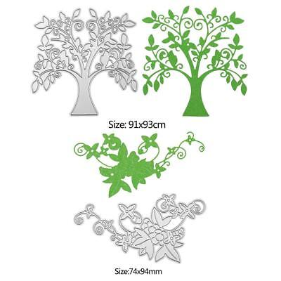 Lace/Tree Cutting Dies Stencils Scrapbook Embossing DIY Craft Album Card Gift