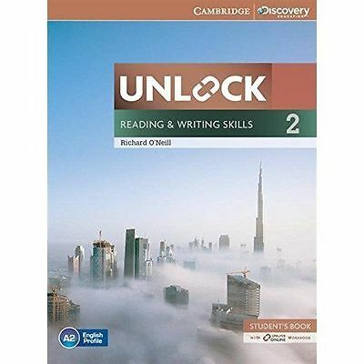 Unlock Level 2 Reading and Writing Skills Student's Book and Online Workbook by