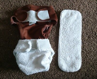 Little Lamb size 1 reusable nappy