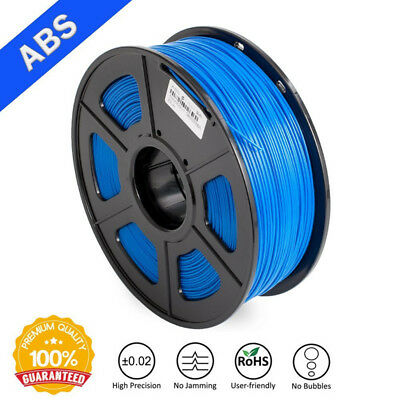 ABS 3D Printing Filament Odor Dimensional Accuracy +/-0.02 mm 1.75MM 1KG Spool