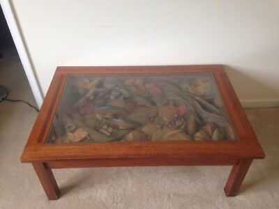 Sky Carvers William Herrick Trout Stream Coffee Table 500 Local Pickup Only
