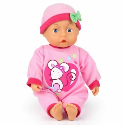 Bayer Baby Doll First Words 28 cm Play Toy with Sound Children Toddler 92866AA