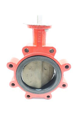 New Bray 20-0600-92801-561 Iron Lugged 6in 150 Butterfly Valve