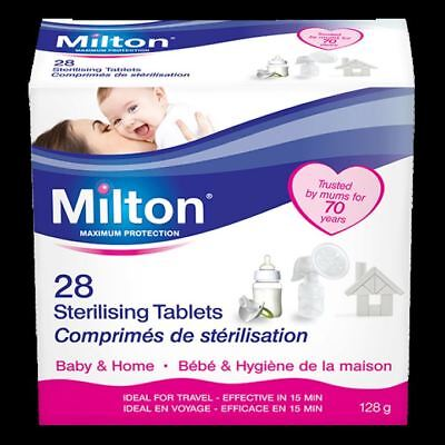 Milton Sterilising Tablets - 28 Tablets 112g - 2 PACK 56 Tablets In Total.