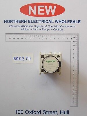 SHNEIDER LADS2 TIME DELAY AUXILIARY ADD-ON CONTACT BLOCK 1NO/1NC 1-30s (600279)