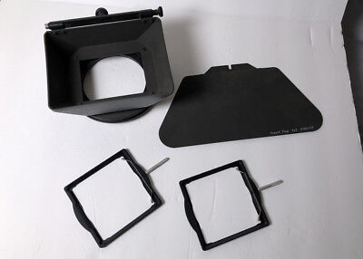 Chrosziel 3x3 matte box W/ filter Holders and French Flags 85mm NICE