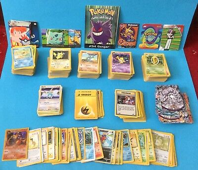 Large Collection Of 840+ Pokemon Cards, Mostly 1990's, Some Holograms ,Topps