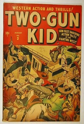 "Two-Gun Kid #3 (Aug 1948, Marvel) Annie Oakley in ""Oil is Where You Find It!"""
