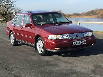 1995 Volvo 960 Ii 3.0 24V Cd Auto Only 89,000 Miles Metallic Red