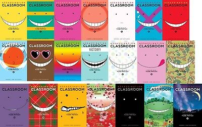 *NEW* Assassination Classroom complete Vol 1-21 manga set English graphic novel