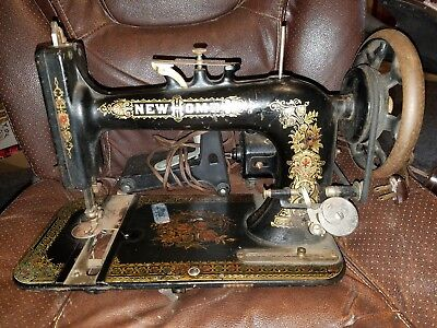 Antique NEWHOME Sewing Machine