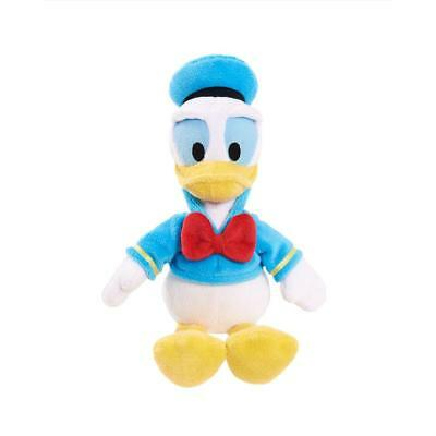 """Disney Junior 8"""" Beanz Plush - Donald Duck Mickey and the Roadster Racers NWT"""