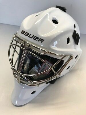 642614fddeb BAUER NME8 ICE Hockey Goalie Mask w  Non Certified Cat Eye -  399.99 ...