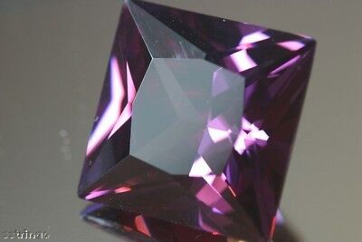 (4pcs) Square alexandrite colour change AAAAA CZ 9 variations