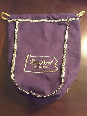 "Crown Royal Pennsylvania County 750ml-new ""one bag"""