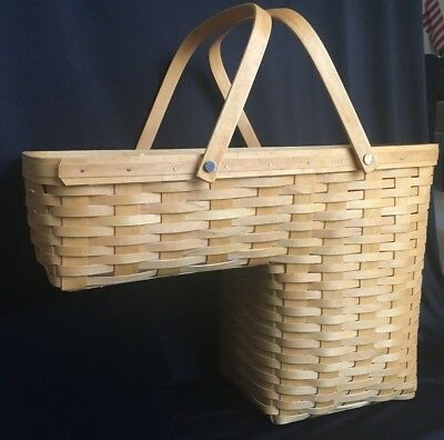 Longaberger  Odds & Ends - Stair Step it up Basket w/ Protector