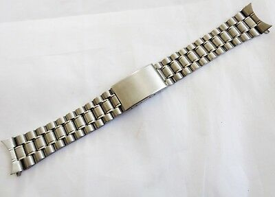 Vintage 20mm Stainless Steel New Old Stock expandable Watch Bracelet