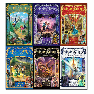 The Land of Stories 6 Book  - Paperback SET -No Box