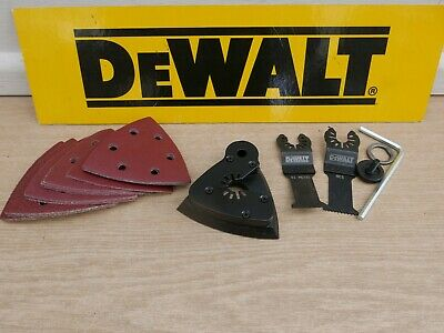 Dewalt 28Pce Accessory Set Taken From A Dcs355 Oscillating Multi Tool