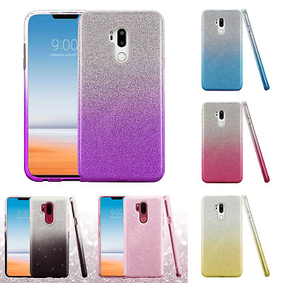 For LG G7 ThinQ SHINE Hybrid Hard Protector Case Rubber Phone Cover Accessory