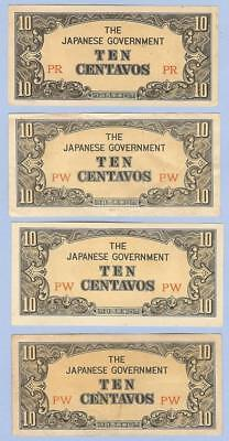 Banknotes Money Currency, Japanese Occupation of the Philippines,10 Centavos