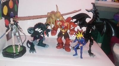 Yu-Gi-Oh figure lot Yugi, R. Eyes B. Dragon, Exodia