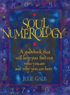 Soul Numerology by Gale, Julie Paperback Book The Cheap Fast Free Post