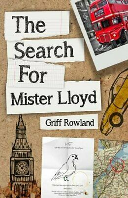 The Search for Mister Lloyd by Rowland, Griff Book The Cheap Fast Free Post