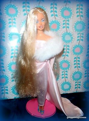 OOAK Hand painted Vintage TROPICAL SUPERSTAR BARBIE as MARILYN MONROE-GORGEOUS