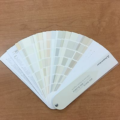 Benjamin Moore Off White Color Collection Fan deck Sealed