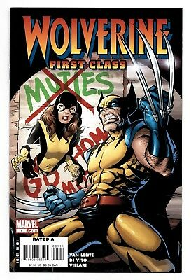 Wolverine First Class #1 2 3 4 5 6 7 Set Marvel Kitty Pryde Van Lente All Ages