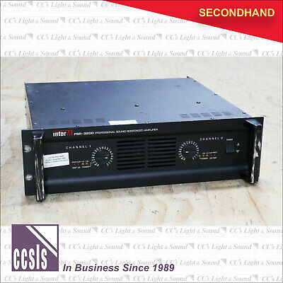 InterM PSR-3000 Power Amplifier 3RU 1200w + 1200w @4-ohms