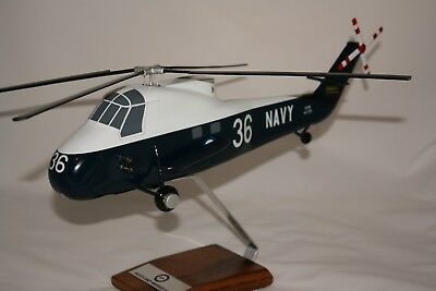 Ran Westland Wessex Has31 Helicopter  - Large 1:48 Scale Handcrafted Desk Model