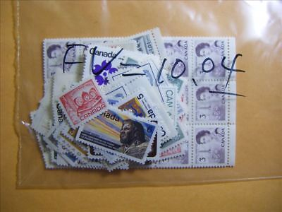 7777 Canada Mint Postage Stamp Lot FV=10.04